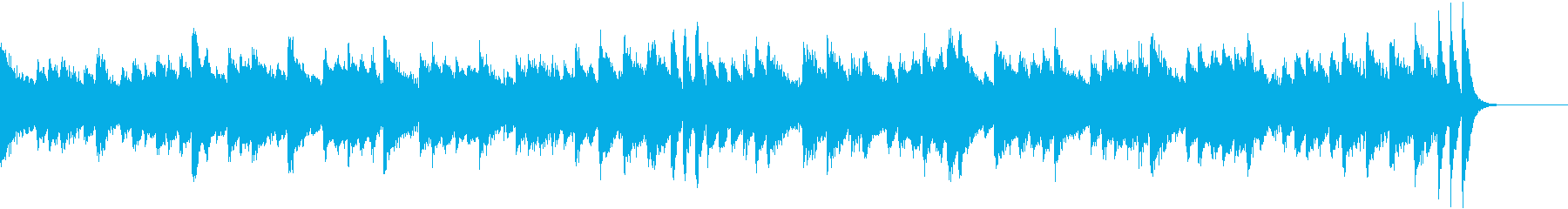 ベトナムを意識したアジアンピアノジングルの再生済みの波形
