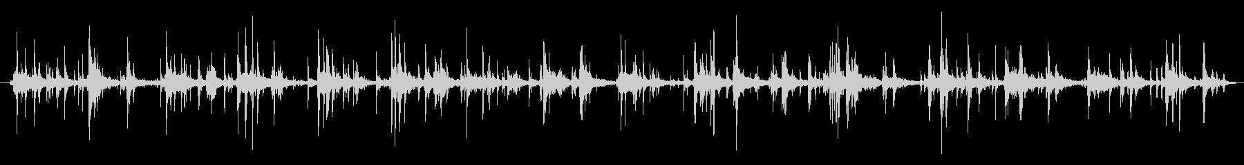 ハーネス ウォークシーケンス03の未再生の波形