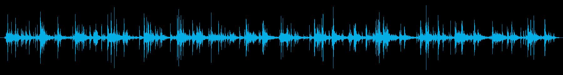 ハーネス ウォークシーケンス03の再生済みの波形