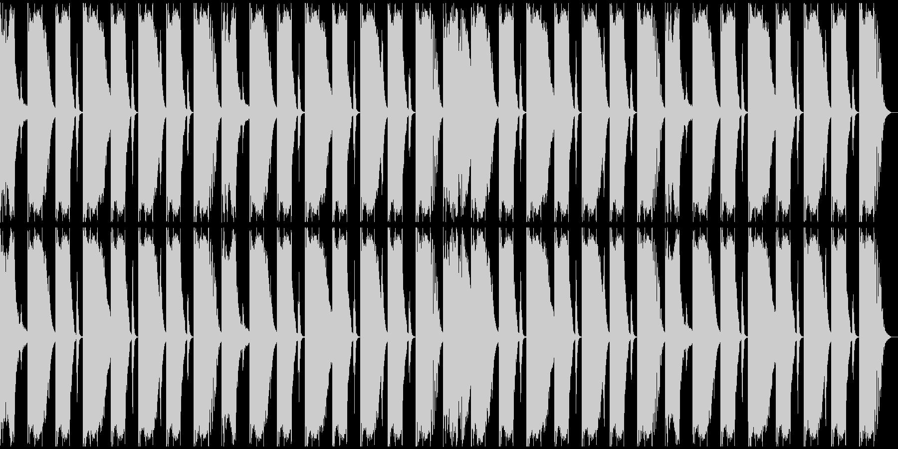 【エレクトロニカ】ロング2、ジングル4の未再生の波形