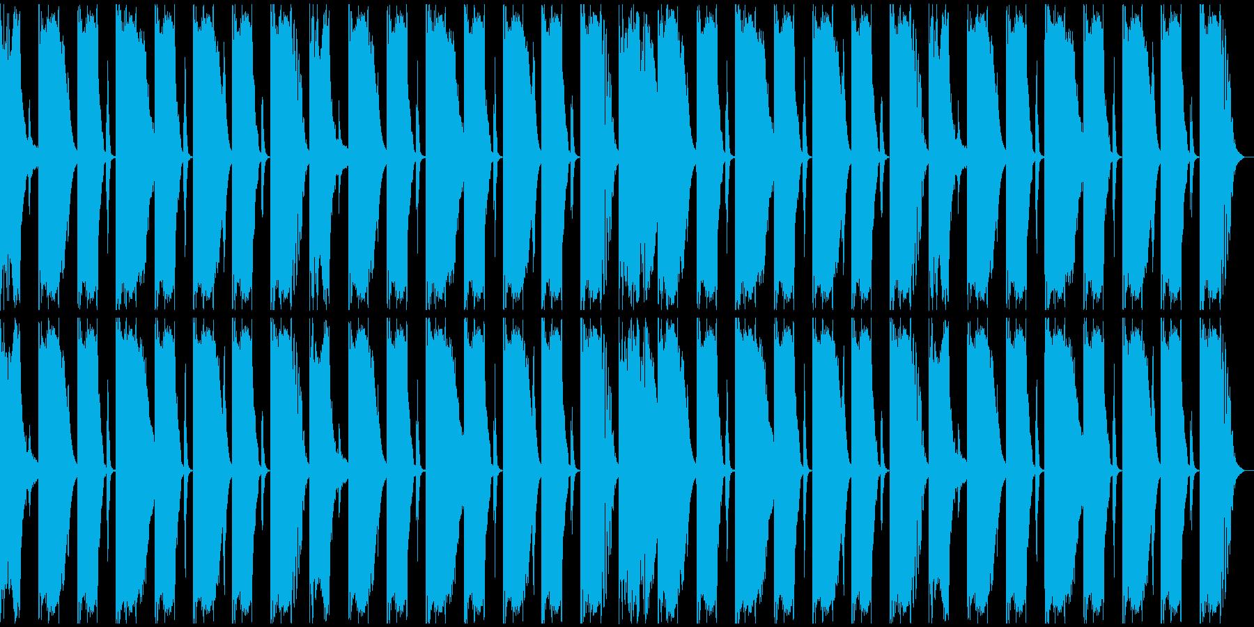 【エレクトロニカ】ロング2、ジングル4の再生済みの波形