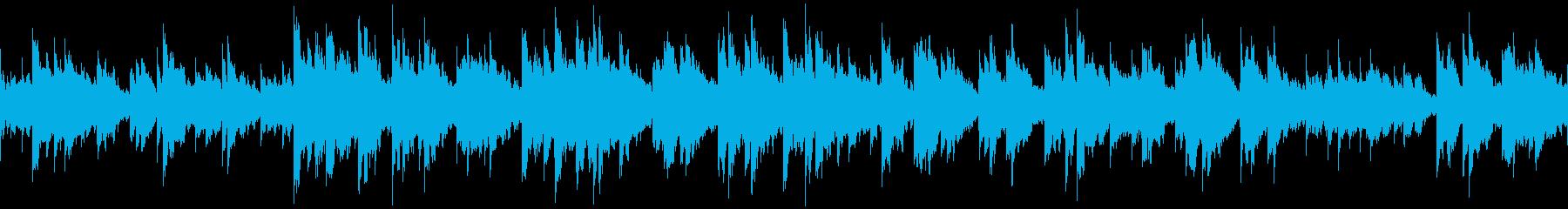 ゲームオーバー 不気味なオルゴールの再生済みの波形