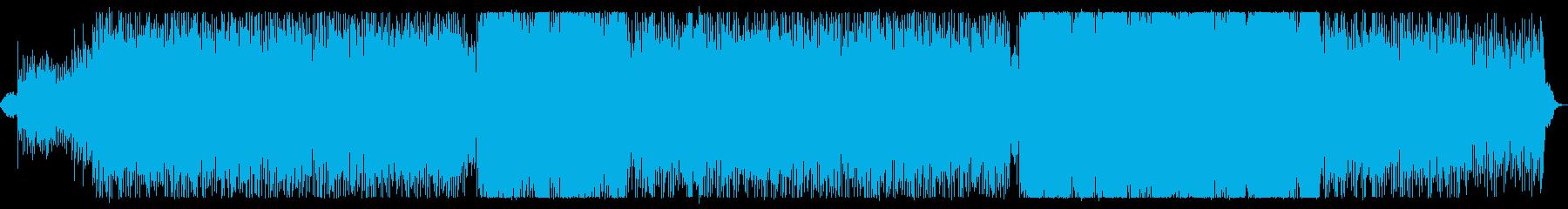 4つ打ち/女性コーラス/ピアノ/疾走感の再生済みの波形