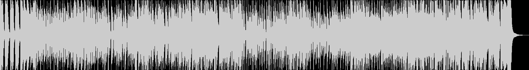 エネルギッシュなファンキーブルースの未再生の波形