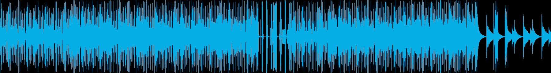 爽やかドラムンベースの再生済みの波形