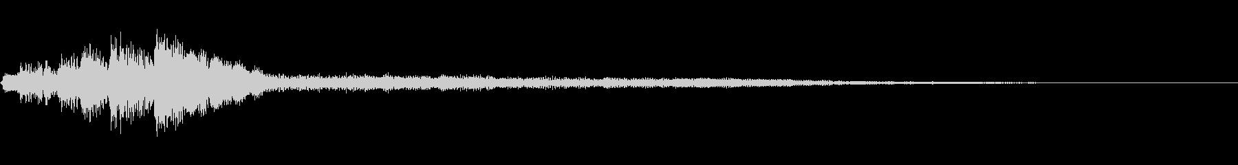 ローファイ・ドキュメンタル風ピアノgの未再生の波形