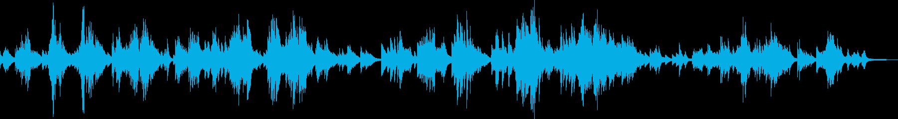 優雅なひと時(ピアノ・エレガンス・贅沢)の再生済みの波形