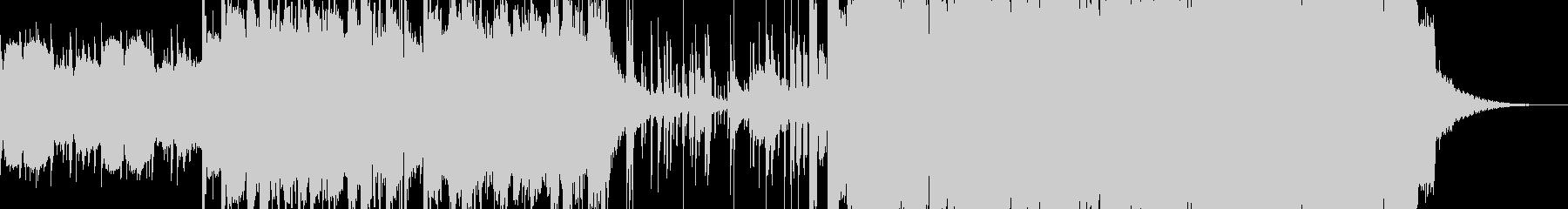 民族楽器入りの壮大なBGMの未再生の波形