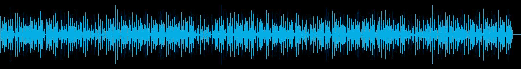 ほのぼの脱力系「ぶんぶんぶん」の再生済みの波形