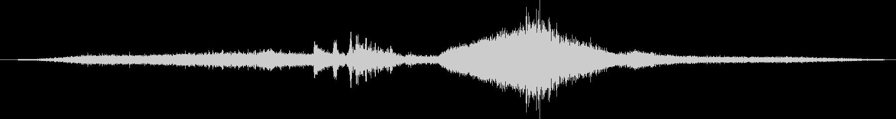 アウディA4マニュアルトランスミッ...の未再生の波形