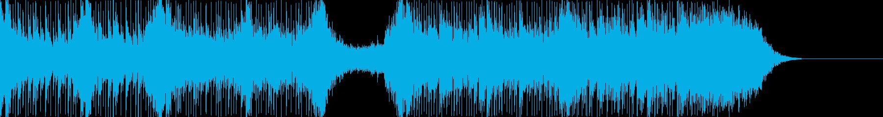 ハリウッド風トレイラー リズム主体03の再生済みの波形
