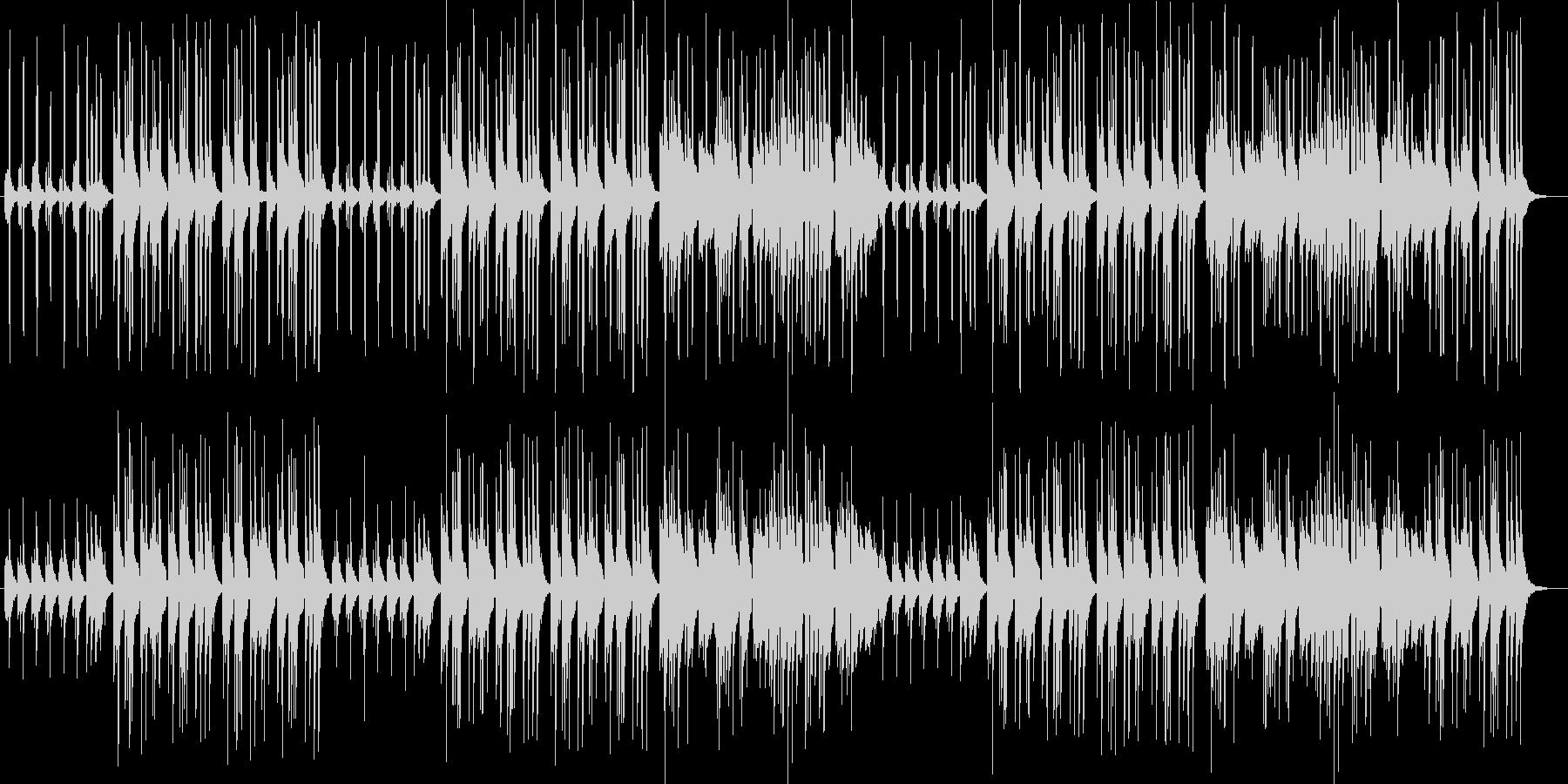 優しい音色ピアノ・オルガンサウンドの未再生の波形