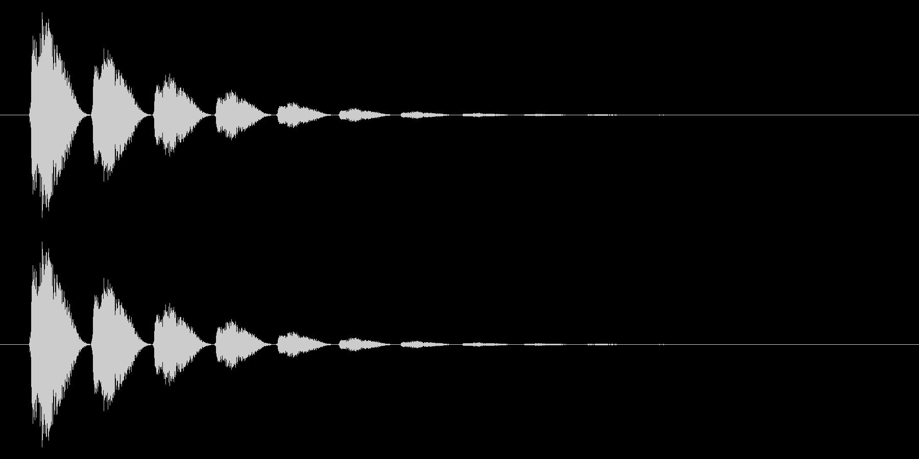 打撃06-6の未再生の波形