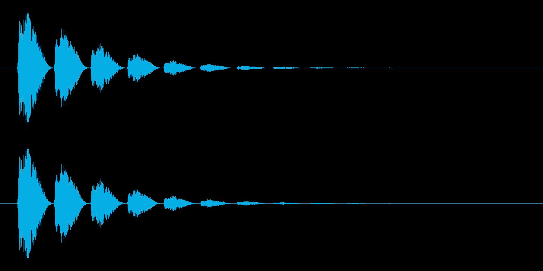 打撃06-6の再生済みの波形