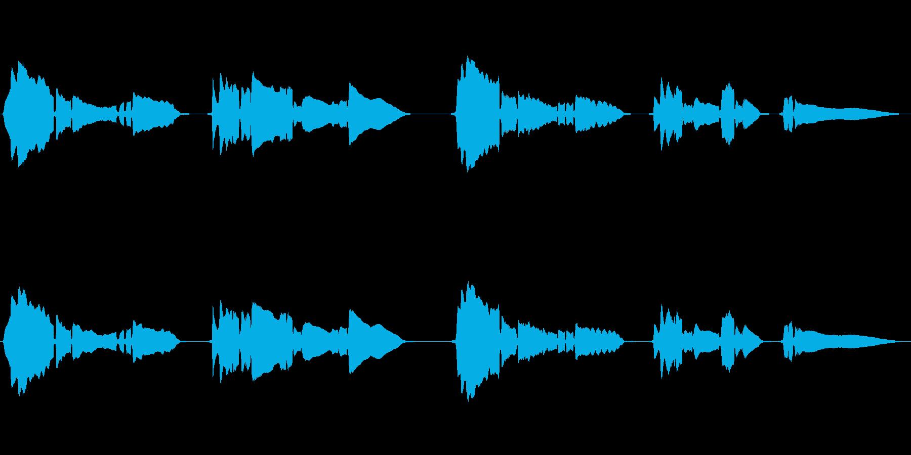 せつないメロディ―をサックスが奏でますの再生済みの波形