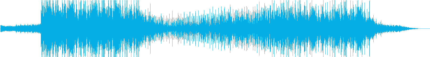 電気楽器。暗い、神秘的な配達。不吉...の再生済みの波形