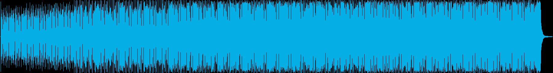 ロック アクション 静か 楽しげ ...の再生済みの波形
