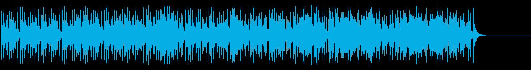 情報番組向けのんきなポップの再生済みの波形