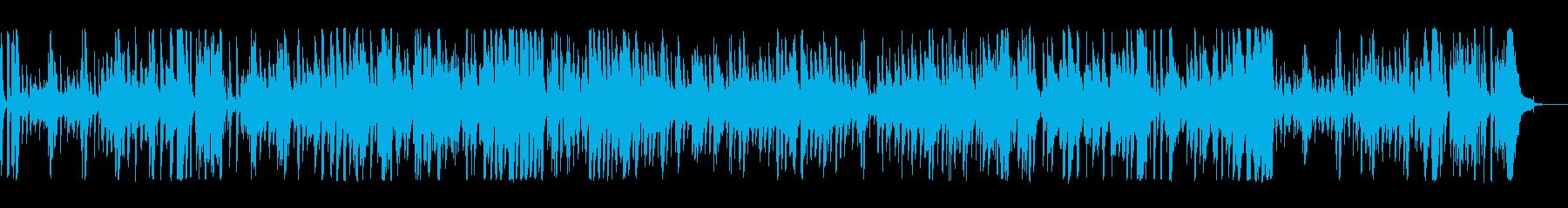ジャズ 楽しげ お洒落 ハイテク ...の再生済みの波形
