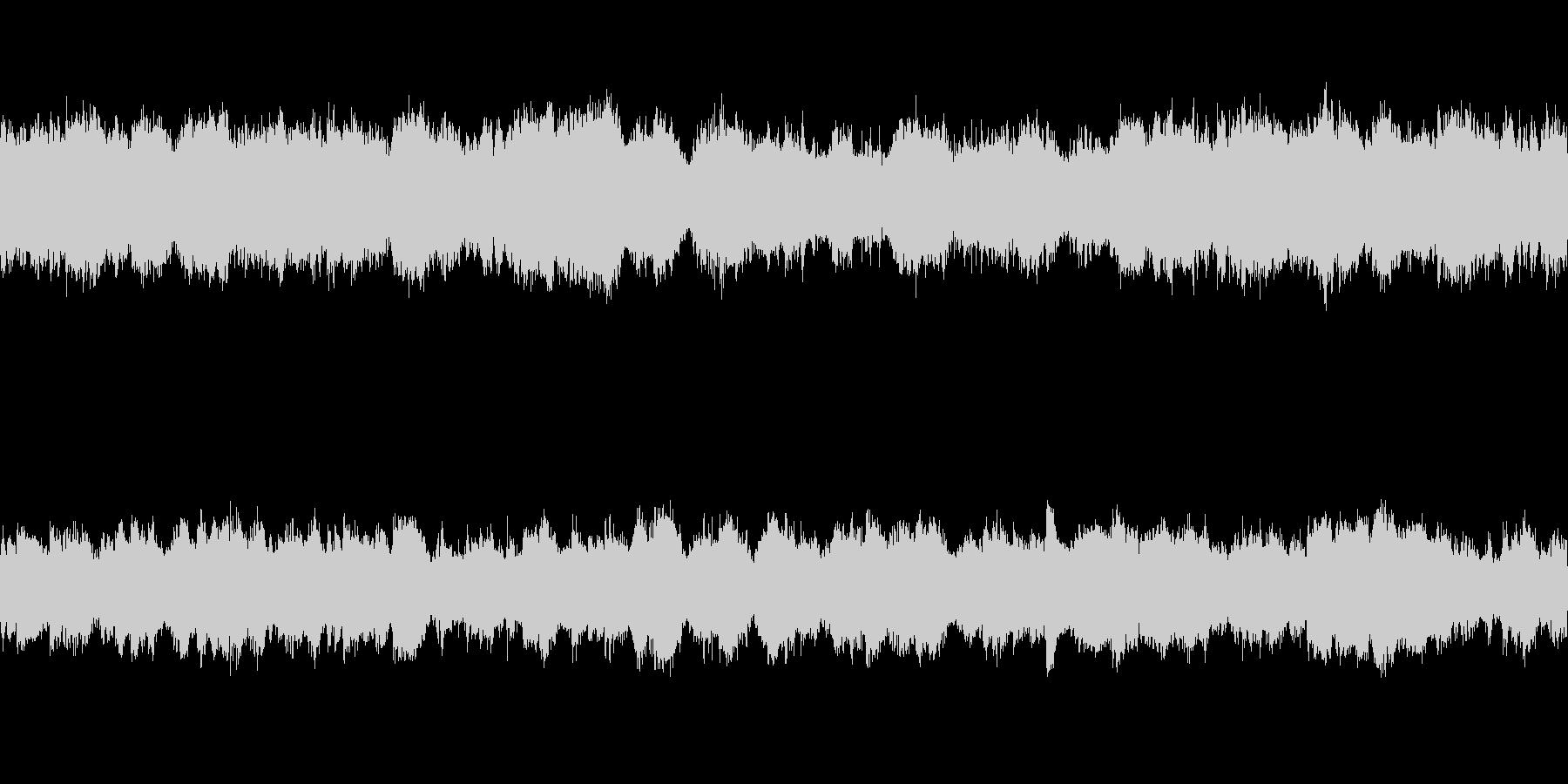 ゆったりとした弦楽四重奏とピアノ ループの未再生の波形