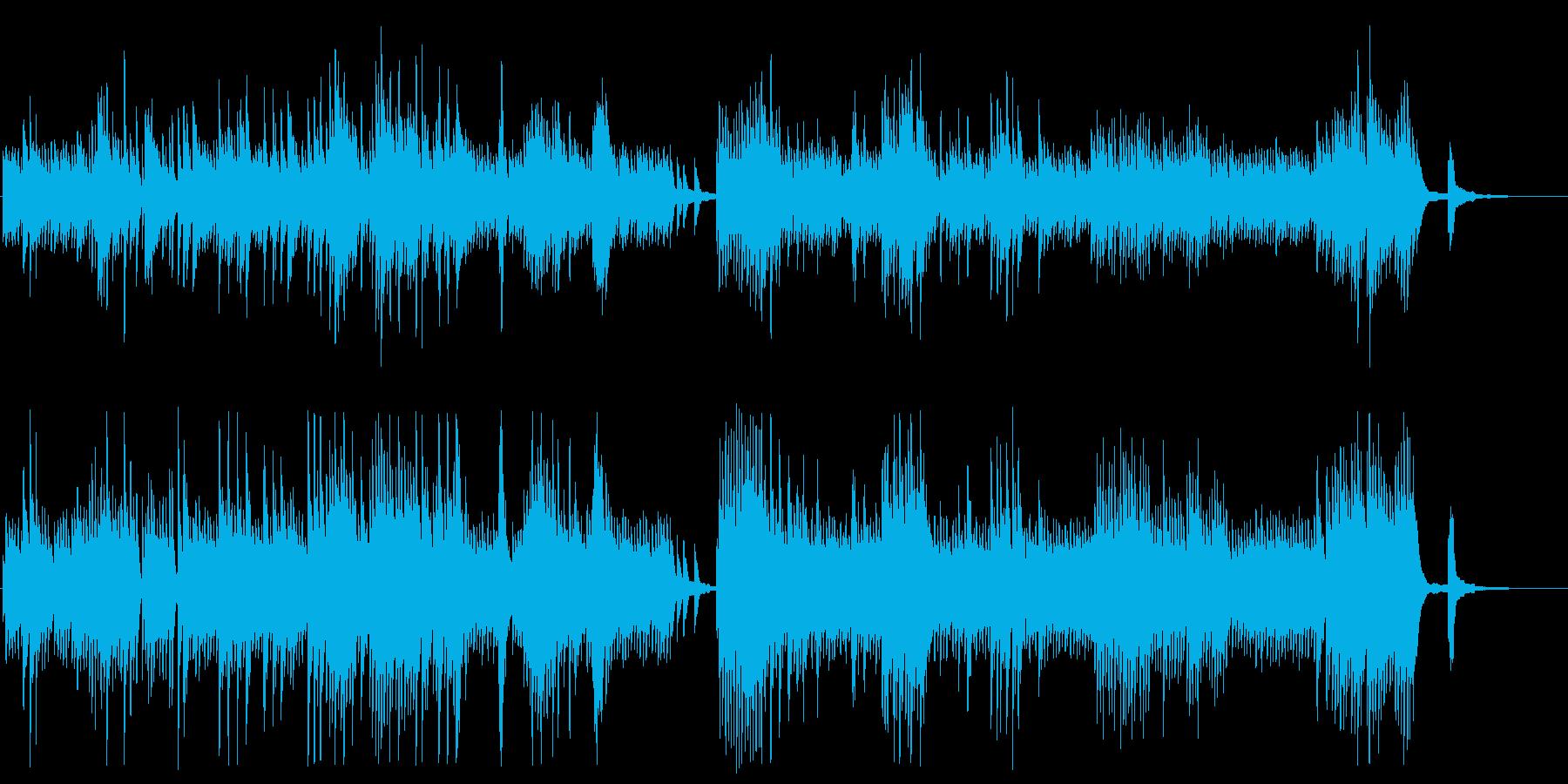 静かでミステリアスなピアノメロディーの再生済みの波形