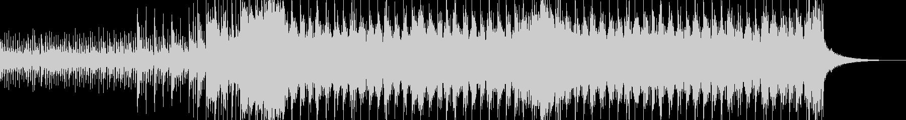 スラップベースを使用したシンセロックですの未再生の波形