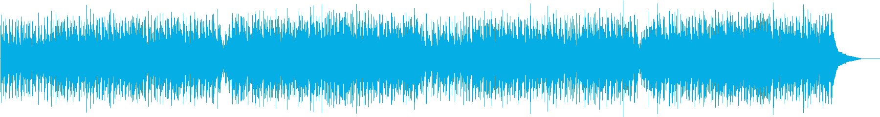 オールディーズな感じのさわやかBGMの再生済みの波形