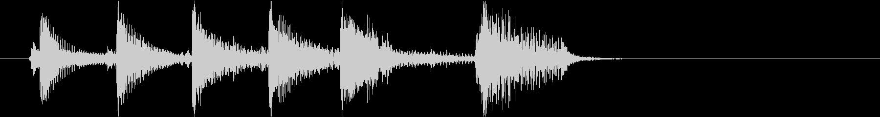 生音 三味線 ショートフレーズ5の未再生の波形