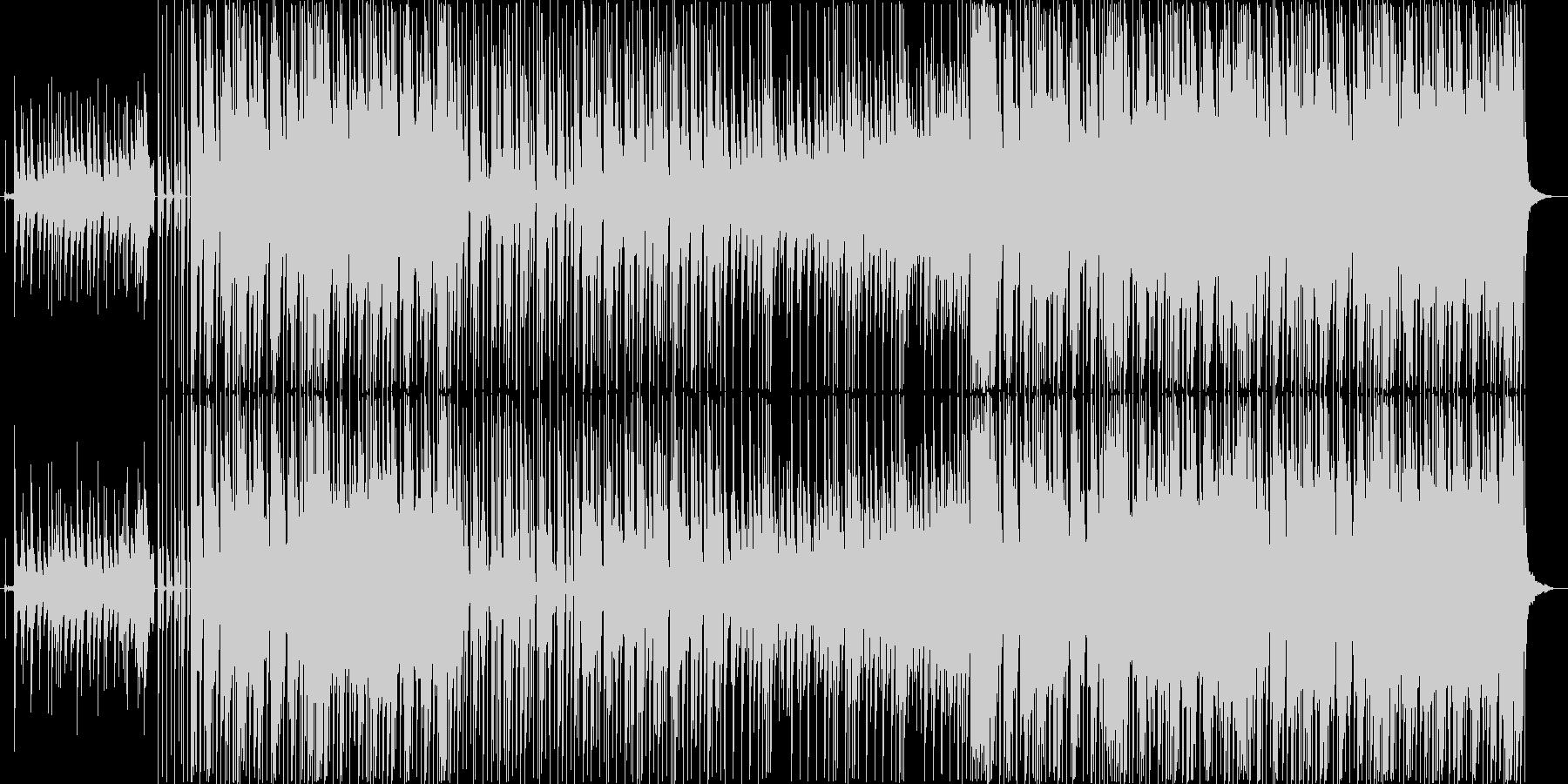 和風レトロなHIP-HOPの未再生の波形