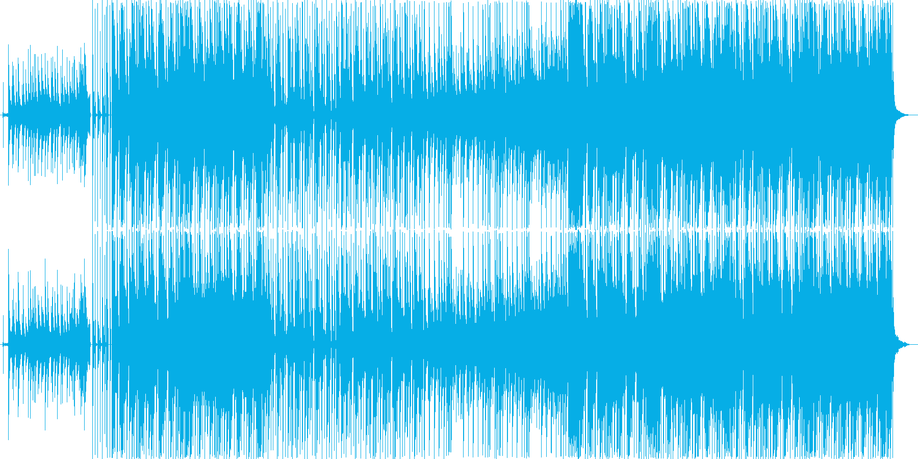 和風レトロなHIP-HOPの再生済みの波形