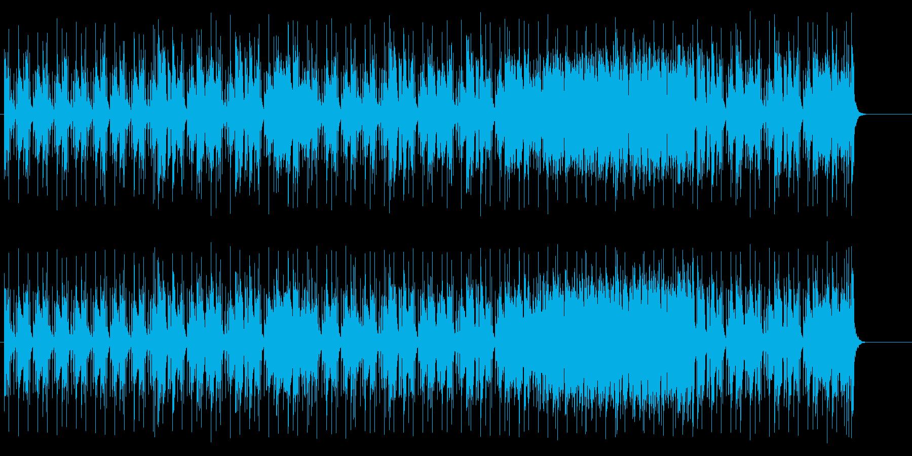 エスニックな楽器のバラエティーポップの再生済みの波形