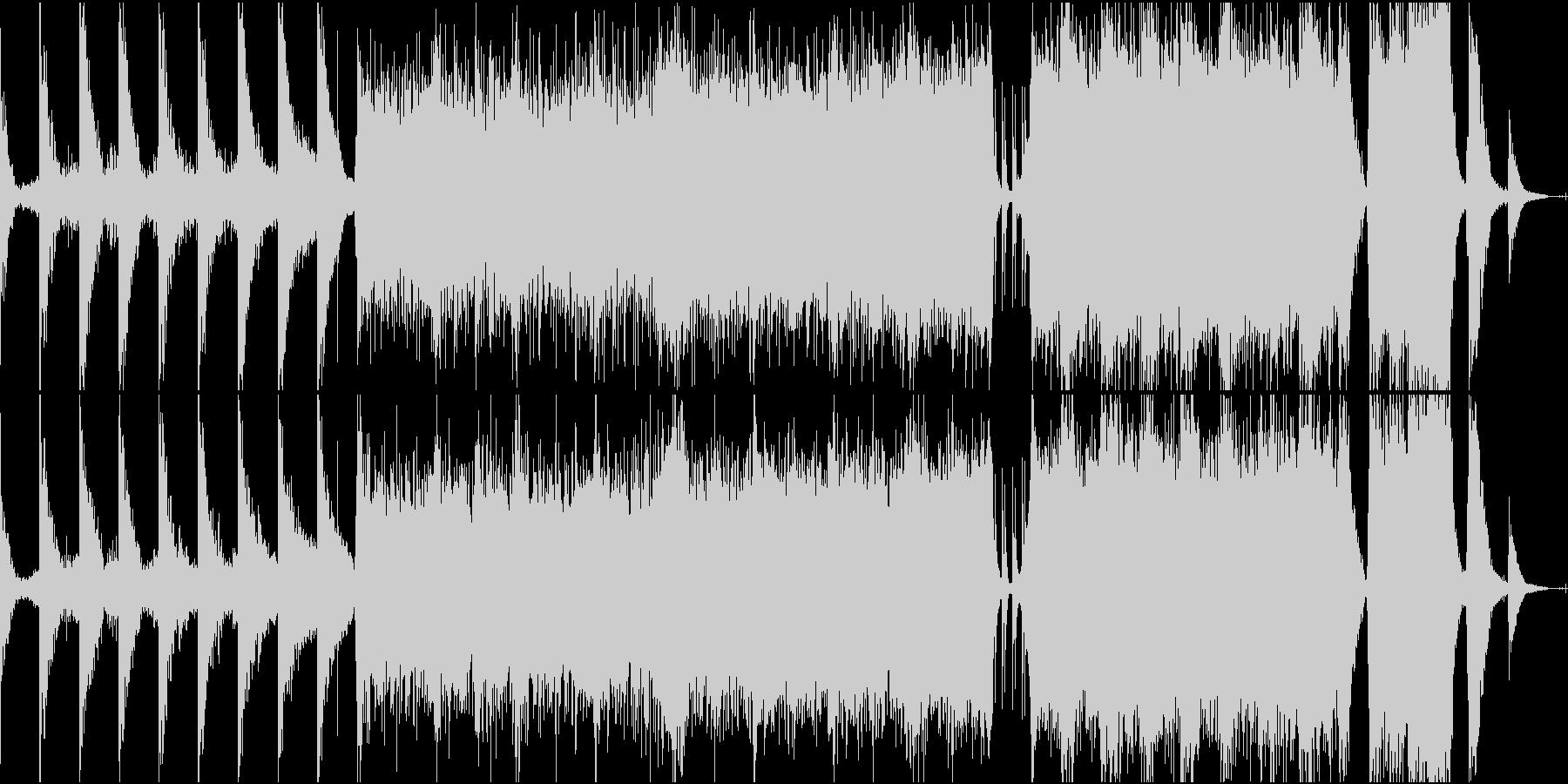 エレクトロ 交響曲 クラシック プ...の未再生の波形