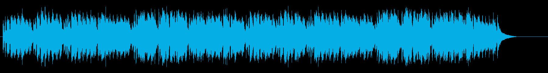 陽気なイタリア風ワールド系ポップスの再生済みの波形