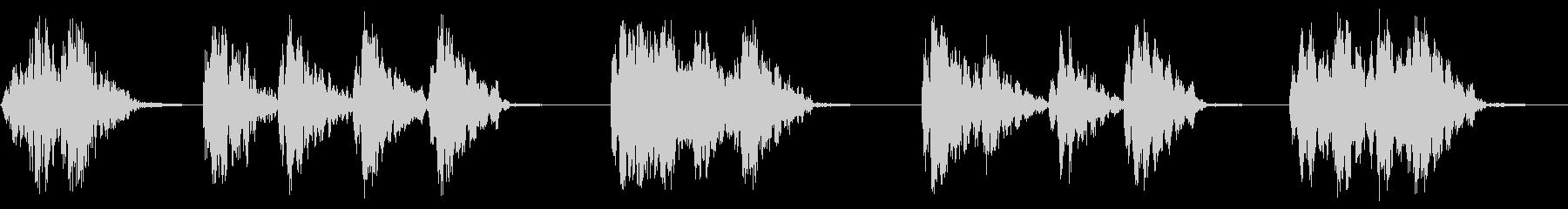 ライトラトルの未再生の波形