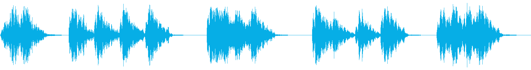 ライトラトルの再生済みの波形