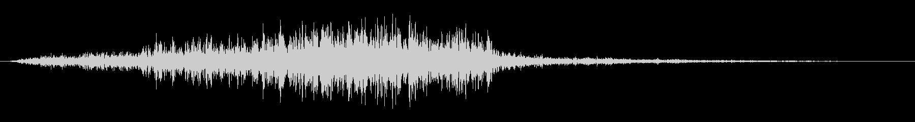 シューッという音EC02_89_4の未再生の波形