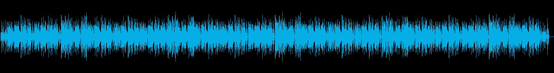 ピアノを使った楽しくて穏やかなBGMの再生済みの波形