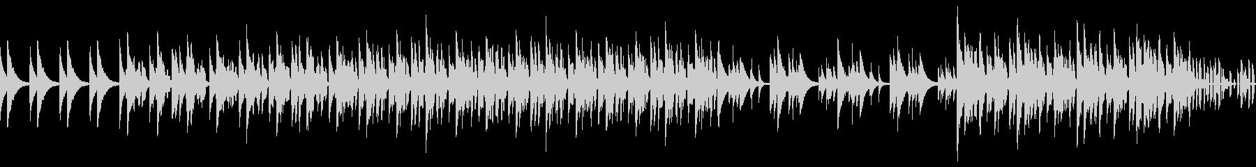 ロングバージョン スウィング、ノービートの未再生の波形
