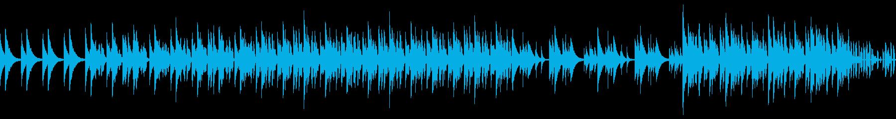 ロングバージョン スウィング、ノービートの再生済みの波形