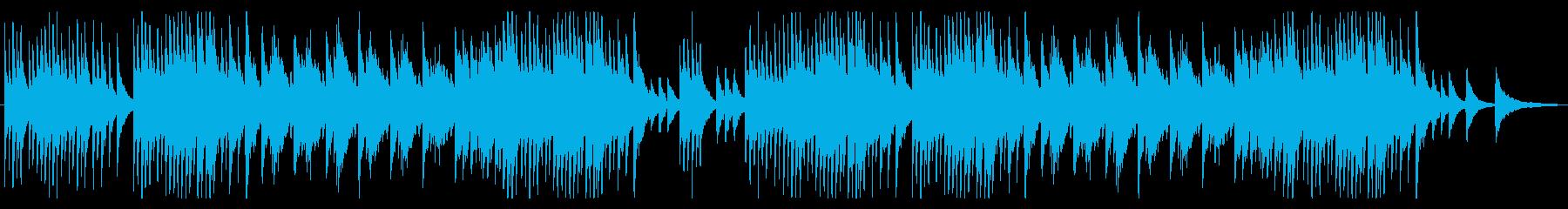 箏とピアノの和風で癒しの小品の再生済みの波形