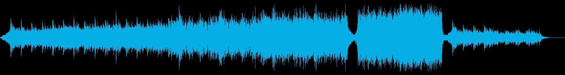 シネマティックな予告トレーラー風11Bの再生済みの波形