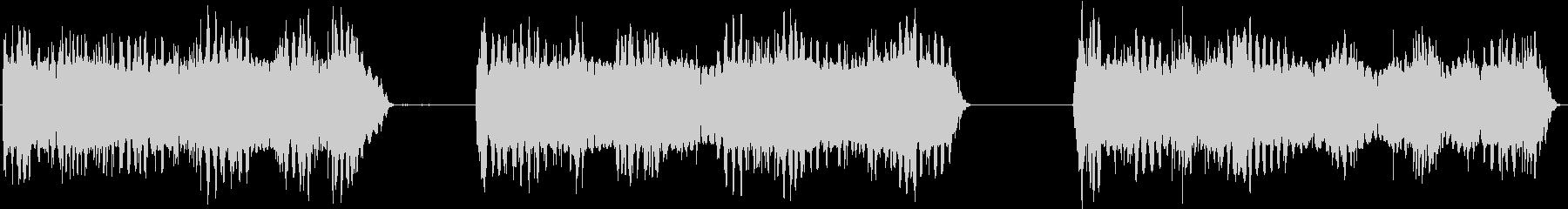 トーンシンセランダムの未再生の波形