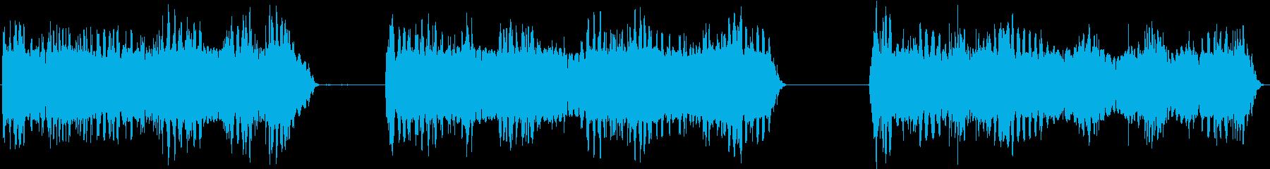 トーンシンセランダムの再生済みの波形
