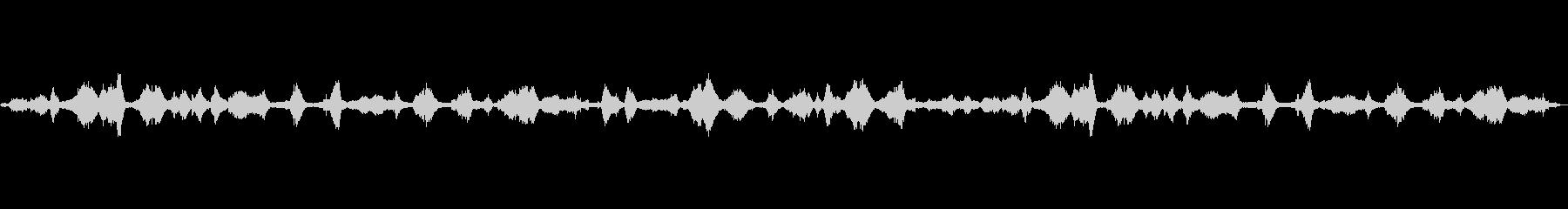 波の音~砂浜~癒しの波音【生録音】の未再生の波形