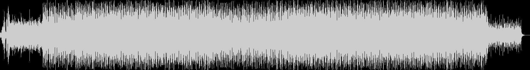 シンセアンサンブルによるポップで軽快な曲の未再生の波形