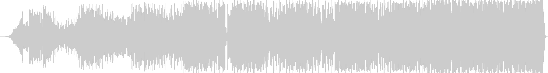 90sなオシャレで疾走感溢れるEDM洋楽の未再生の波形