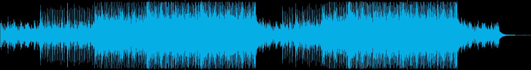 【メロ抜】ポジティブなアコギとマンドリンの再生済みの波形