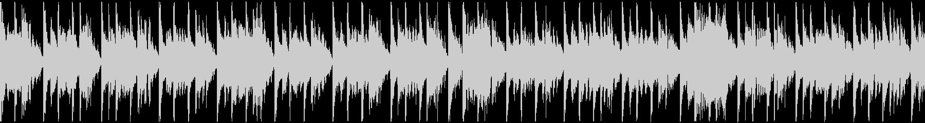 定番曲「スタイリッシュ」B:ループ短の未再生の波形