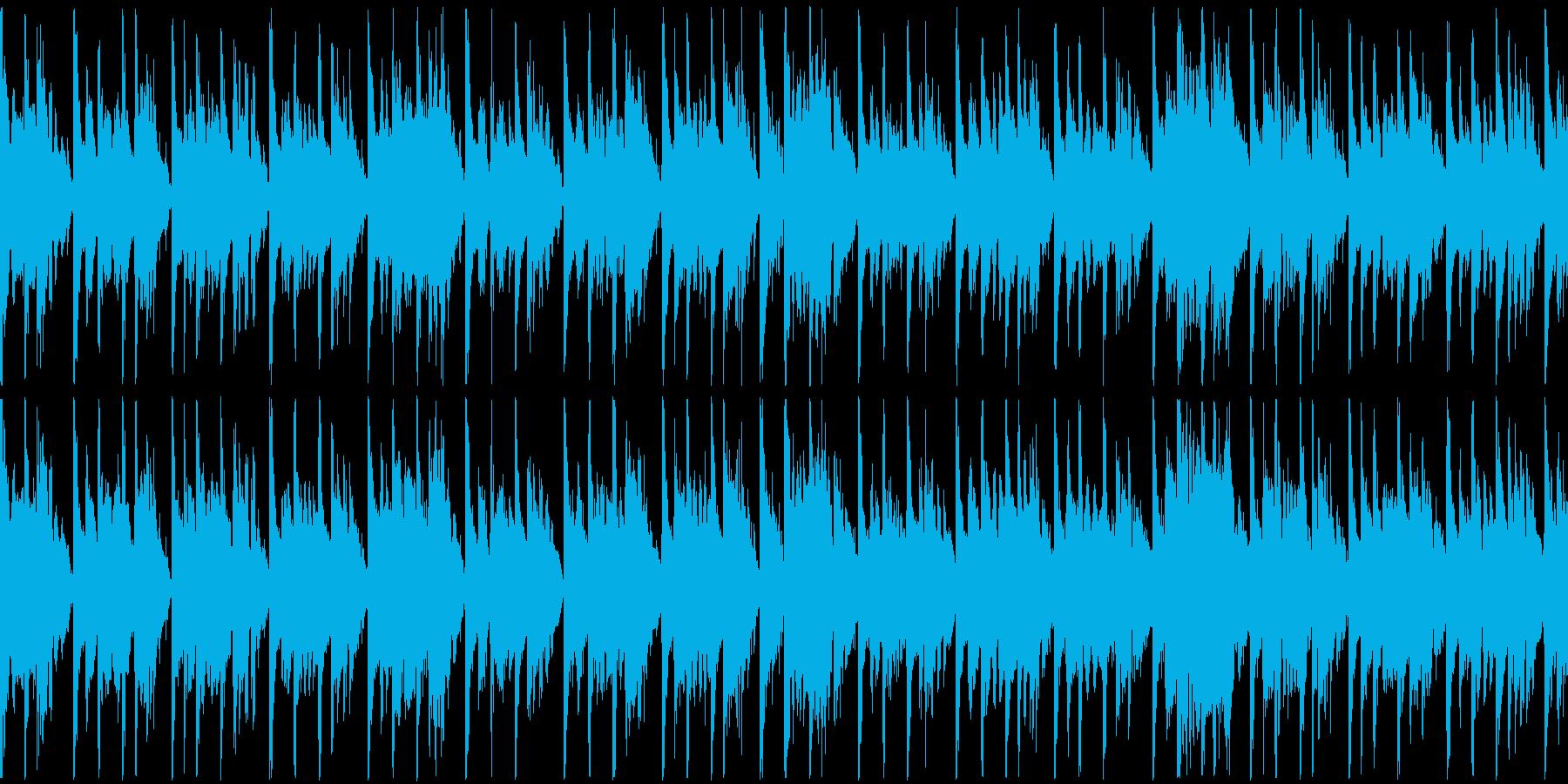 定番曲「スタイリッシュ」B:ループ短の再生済みの波形