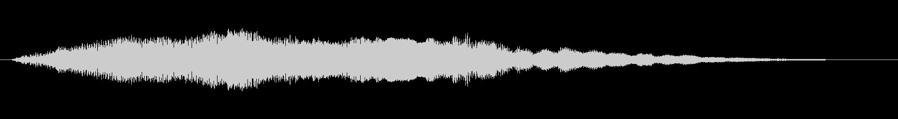 工業 ソフトメタルきしみシンセ02の未再生の波形